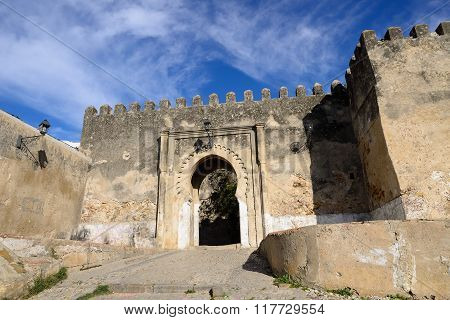 Entrance Gate  In Tanger, Morocco, Africa