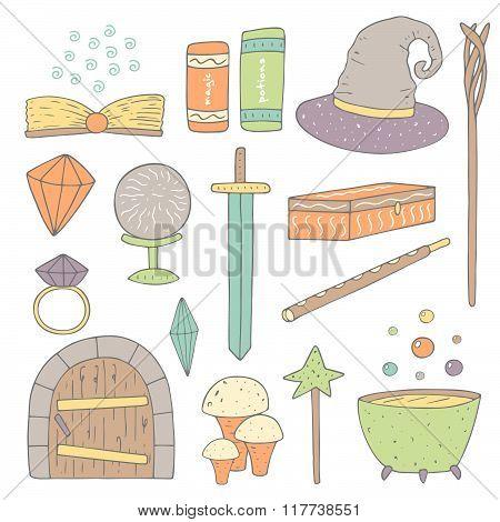 Magic objects set