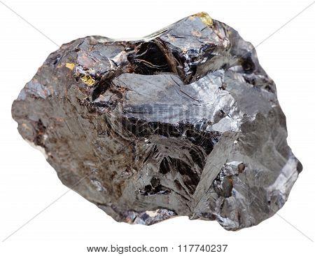 Sphalerite (marmatite, Zinc Blende) Stone Isolated