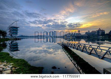 Sunrise at Pullman, Putrajaya Malaysia