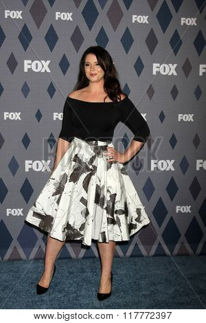 LOS ANGELES - JAN 15:  Kether Donahue at the FOX Winter TCA 2016 All-Star Party at the Langham Huntington Hotel on January 15, 2016 in Pasadena, CA