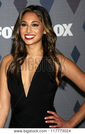 LOS ANGELES - JAN 15:  Meaghan Rath at the FOX Winter TCA 2016 All-Star Party at the Langham Huntington Hotel on January 15, 2016 in Pasadena, CA