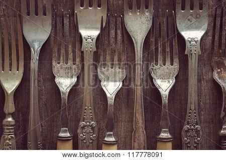 Antique Or Vintage Forks