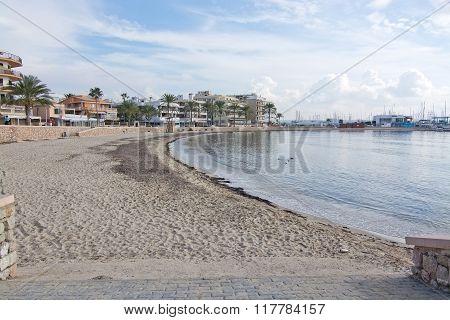 Winter Sandy Beach