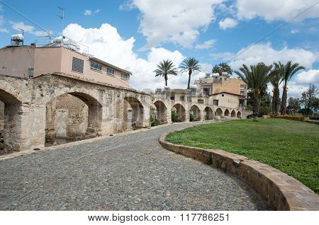 Nicosia old water supply aqueduct is located in Nicosia the capital of Cyprus and is the oldest aqueduct in Cyprus.