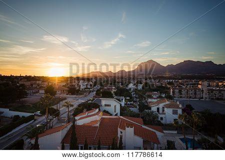 Sunset in Albir