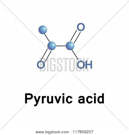 Pyruvic ketone acid