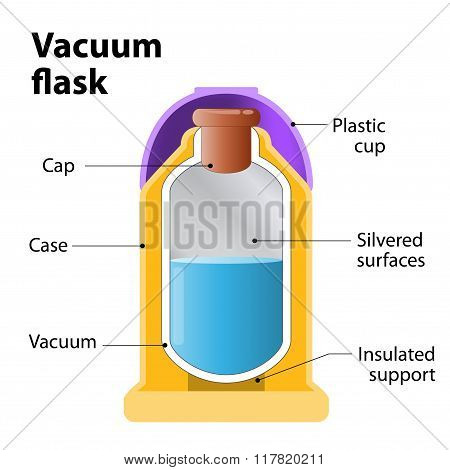 Vacuum Flask Or Dewar Flask