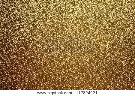 Golden Glass Background