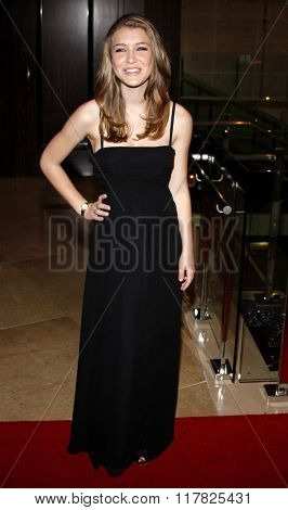 Nathalia Ramos at the 2009 Noche De Ninos Gala held at the Beverly Hilton Hotel in Beverly Hills, California, United States on May 9, 2009.