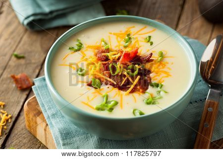 Creamy Loaded Baked Potato Soup