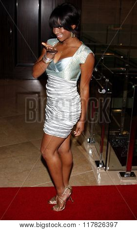 Monique Coleman at the 2009 Noche De Ninos Gala held at the Beverly Hilton Hotel in Beverly Hills, California, United States on May 9, 2009.
