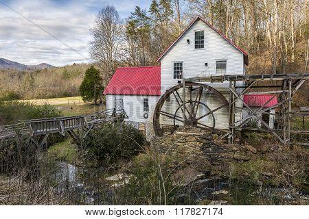 Historic Old Grist Mill - North Carolina