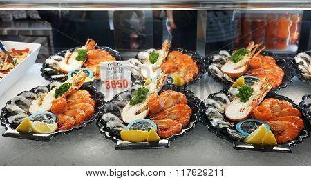 Lobster Platter Sold In Sydney Fish Market