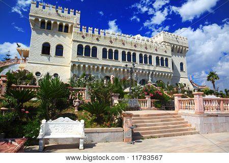 Castello Flotta Is Situated On Hill Near Ionian Coast