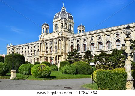 Museum Of Natural History (naturhistorisches Museum) In Vienna, Austria