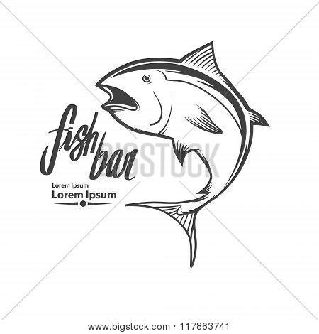 Tuna Fishing Logo
