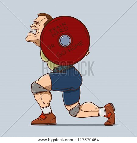 Sport Weighlifting Man