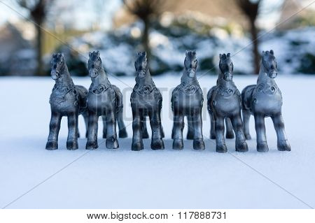 Silver Horses