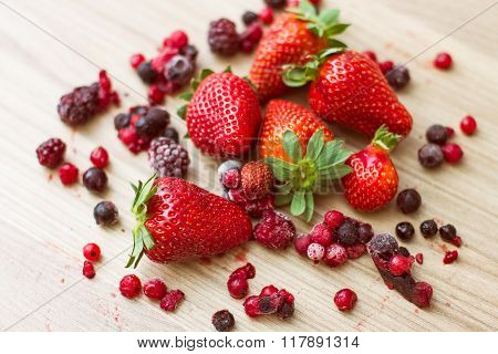 Healthy Red Fruits