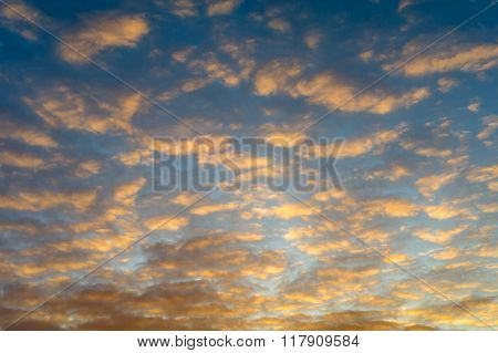 Cloud, Evening Sky.