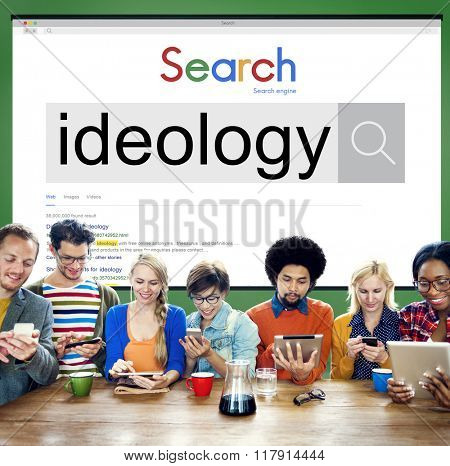 Ideology Ideals Philosophy Teaching Theory Concept