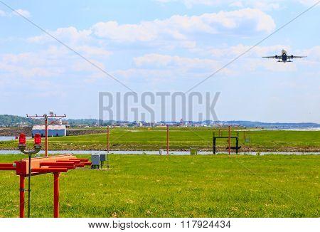 Takeoff at Ronald Reagan National Airport