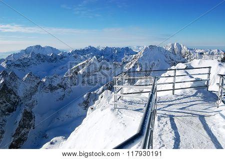 Landscape Of High Tatras.