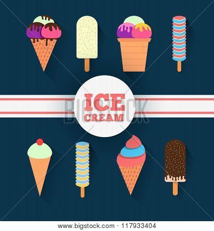 Ice-cream Design Set