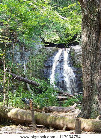 Hidden Maine Waterfall