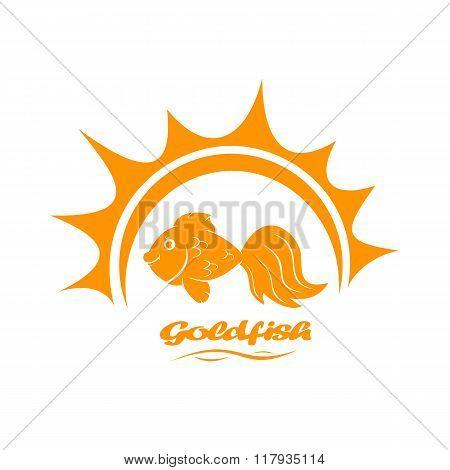 Goldfish And Sun