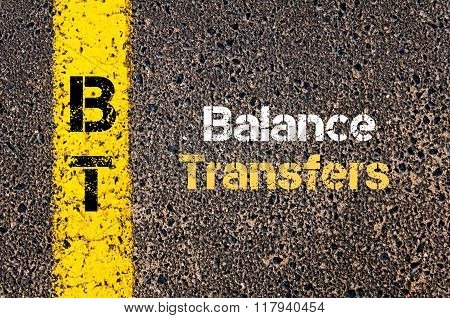 Business Acronym Bt Balance Transfers