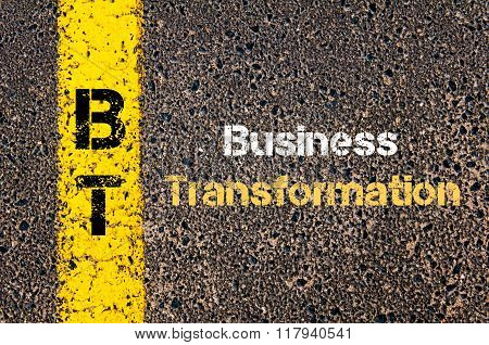 Business Acronym Bt Business Transformation