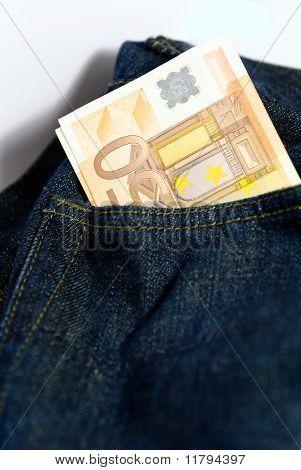 Euros In Pocket