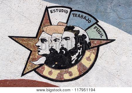 Cuban revolution propaganda