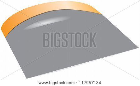 Kitchen Scraper With Plastic Handle