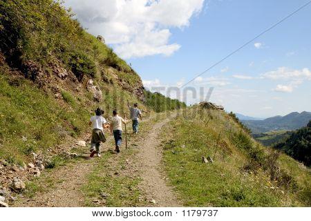 Children Hiking