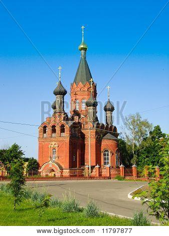Russian church - summer view