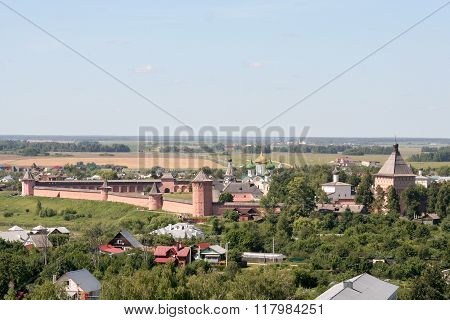 View From The Bell Tower Of The Saviour Monastery Of St. Euthymius