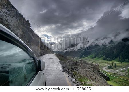 Storm Clouds , Ladakh, Jammu And Kashmir, India