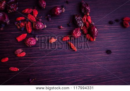 Fresh Antioxidant Herbal Tea From Goji Berries