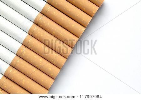 Cigarettes At An Angle With Copyspace
