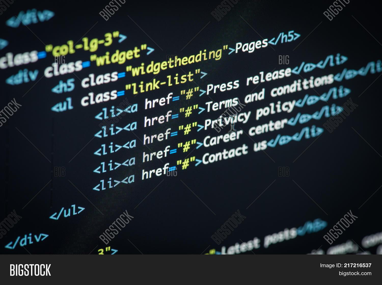Real Python Code Image & Photo (Free Trial) | Bigstock