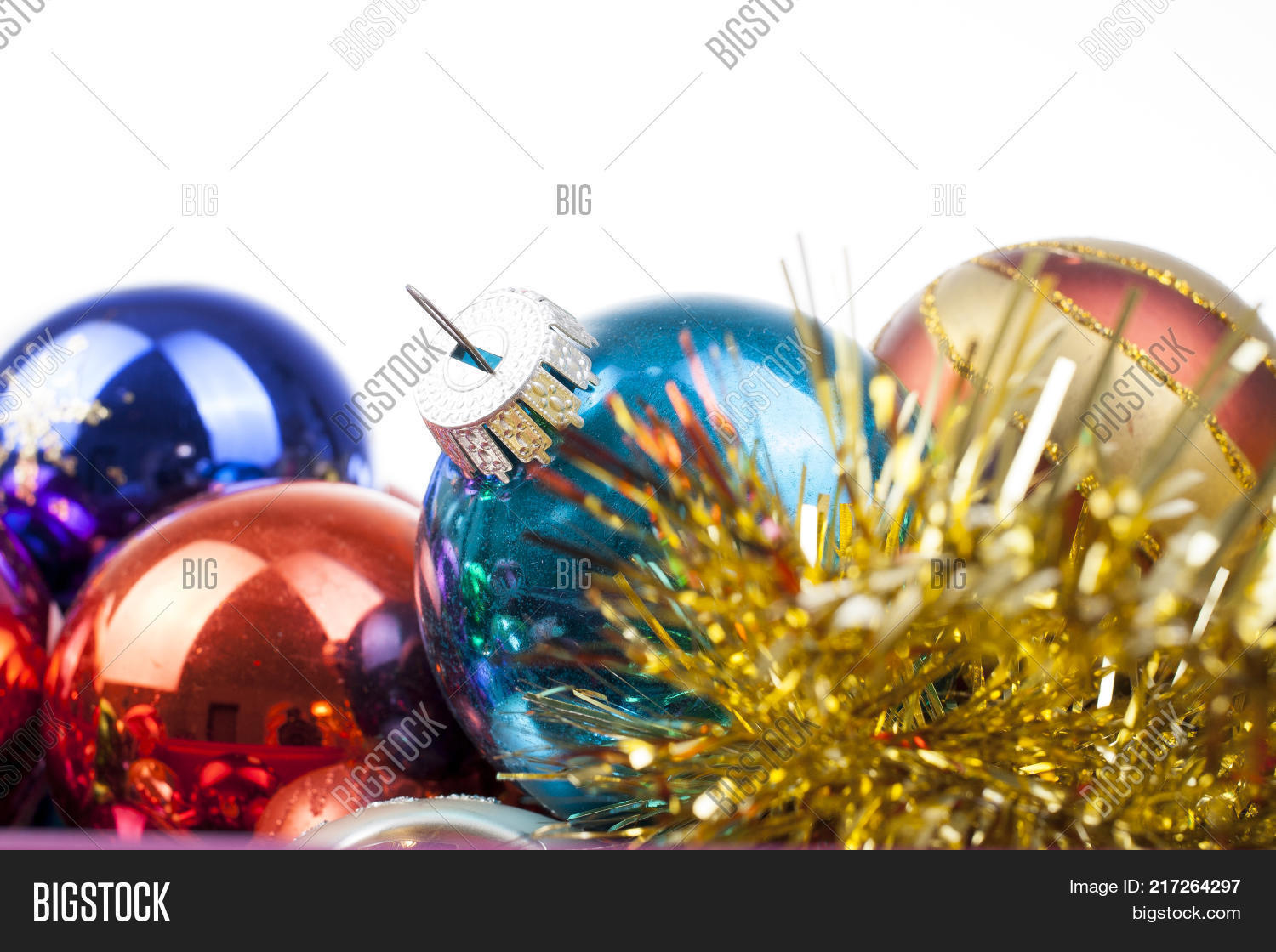 Christmas Bauble Image Photo Free Trial Bigstock