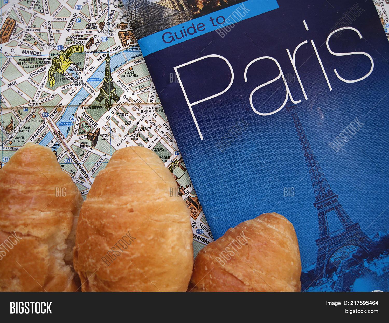 Lopen Tour Paris Map.Symbols Paris France Image Photo Free Trial Bigstock
