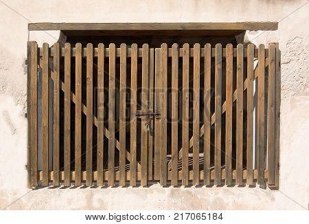 Wooden Garage Or Shed