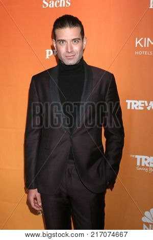 LOS ANGELES - DEC 3:  Omar Sharif Jr at the 2017 TrevorLIVE Los Angeles at Beverly Hilton Hotel on December 3, 2017 in Beverly Hills, CA