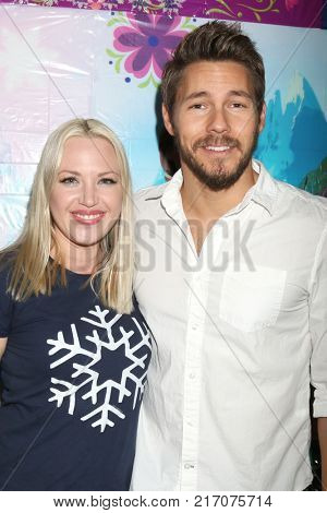 LOS ANGELES - NOV 26:  Adrienne Frantz, Scott Clifton at the Amelie Bailey 2nd Birthday Party at Private Residence on November 26, 2017 in Studio City, CA