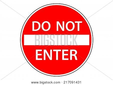 do not enter sign information for ban