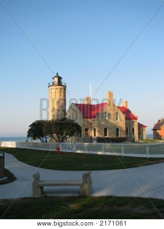 Old Mackinaw Point Light House